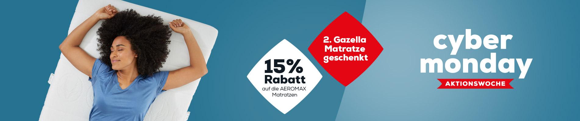 cyber monday Matratzen banner | Swiss Sense